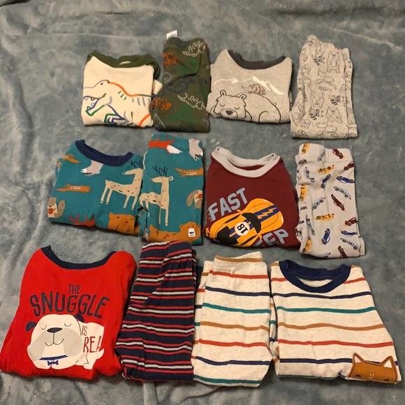 6 pair of pajamas, Wonder Nation. 18m-2T.